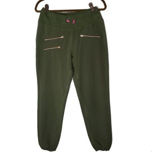 Roadrunner Sports Olive Green Pants Size Small